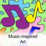 Music-Inspired Art